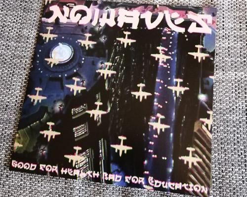 NOWAVES Cover der neuen LP