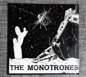 THE MONOTRONES 12'' EP Cover